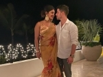 Priyanka Chopra, Nick Jonas celebrate Diwali together, posts image online