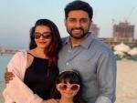 Aishwarya Rai Bachchan spends new year with Abhishek, Aaradhya