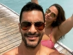 Angad Bedi wishes wife Neha Dhupia with a heart-touching message