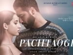 Nora Fatehi romances with Vicky Kaushal in Pachtaoge