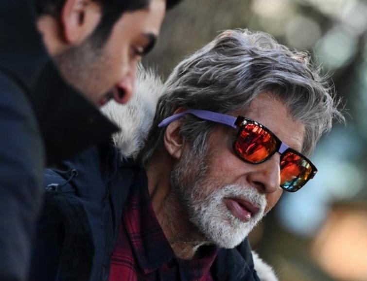 Megastar Amitabh Bachchan shoots in minus 3 degrees
