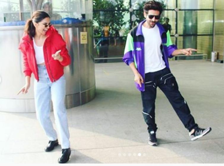 Mumbai Airport: Deepika Padukone takes Dheeme Dheeme challenge, video goes viral