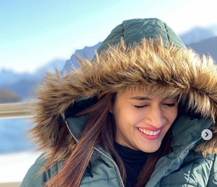 Kriti Sanon enjoying her vacation in Switzerland