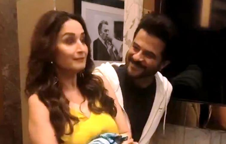 Madhuri Dixit, Anil Kapoor create special video for fans as Ram Lakhan completes 30 years