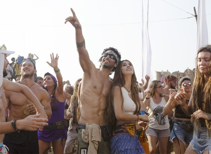 Makers release Malang's first look, Disha-Aditya busy partying