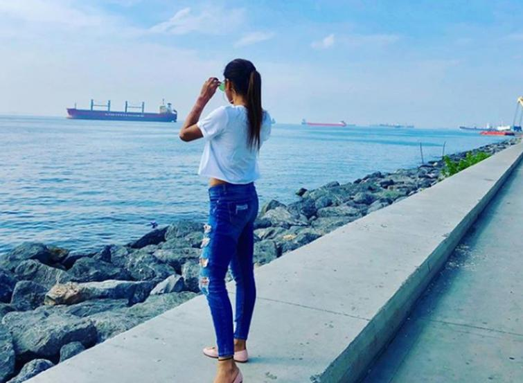 I see you: TMC MP Mimi Chakraborty posts gorgeous image of herself on the social media