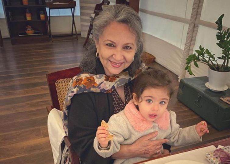 Sharmila Tagore turns 75, Soha shares adorable picture of B-town beauty with Inaaya