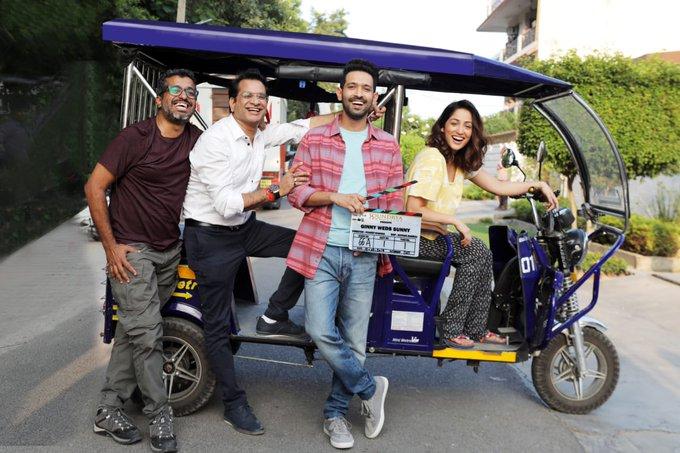 Yami Gautam starts shooting for her next movie Ginny Weds Sunny in Delhi