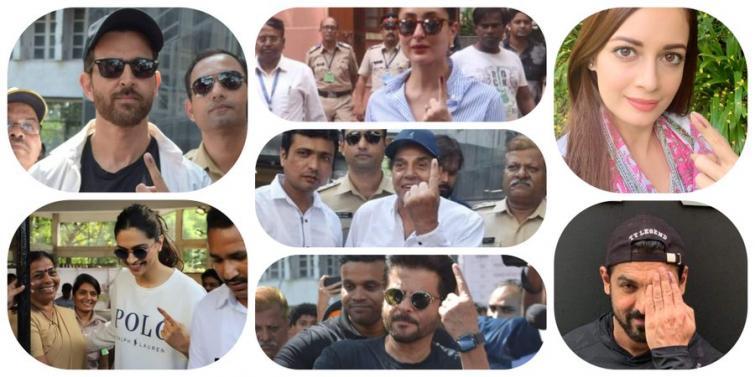 Maharashtra Assembly polls: Bollywood actors cast their votes