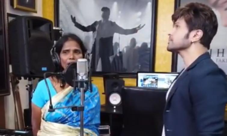 After Teri Meri, Ranu Mondal records second song Aadat with Himesh Reshammiya