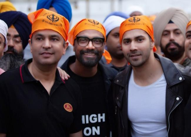 Varun Dhawan commences shooting for Remo D'Souza's dance film in Punjab