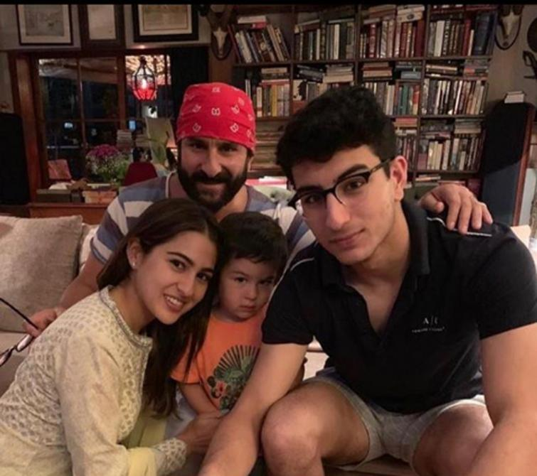 Sara Ali Khan wishes dad Saif Ali Khan on his birthday, writes a heart-touching post