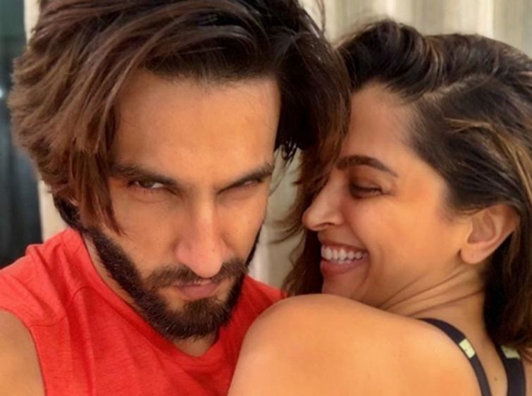 COVID 19 isolation: Ranveer Singh shares image with Deepika on Instagram