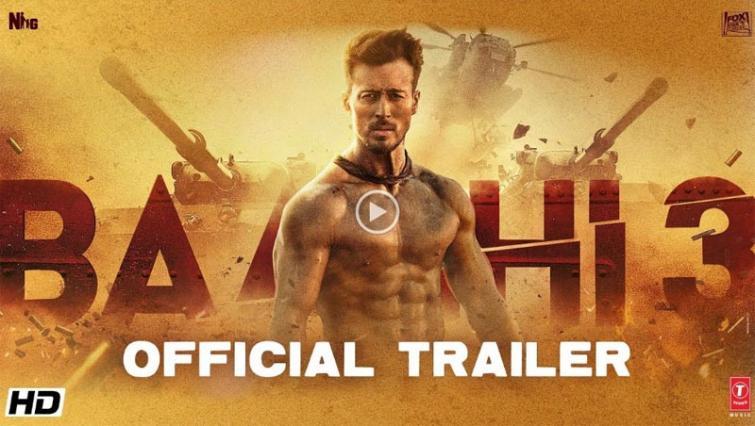 Makers release trailer of Tiger Shroff, Shraddha Kapoor starrer Baaghi 3
