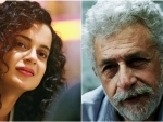 Sushant death: Kangana reacts to Naseeruddin's 'half-educated starlet dig'