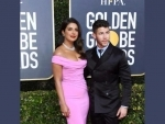 Priyanka Chopra Jonas, Nick Jonas dazzle at Golden Globes Awards red carpet