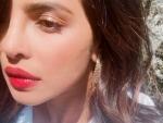 'Feeling adventurous', says Priyanka Chopra Jonas flaunting 'cherry lips'
