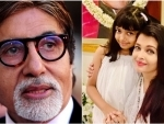 Couldn't hold back tears, Big B tweets after Ash-Aaradhya's discharge from hospital