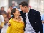 Akshay Kumar begins shooting for Atrangi Re