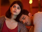 Sushant looks like a relaxed child as he sleeps on the shoulder of Dil Bechara costar Sanjana Sanghi in this Instagram image