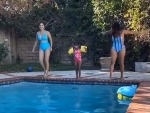 Sunny Leone enjoys swimming session with daughter Nisha, shares video on Instagram