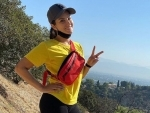 Sunny Leone walks 14 km, shares picture on Instagram