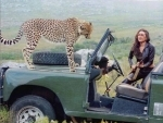 Karishma Kapoor shares her encounter with cheetah in this Friday throwback image