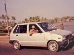 Imtiaz Ali shares image of his first car- Maruti 800