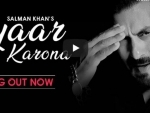 Fight against COVID-19: Salman Khan sings 'Pyaar Karona', unveils on Youtube