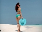 Maldives vacation: Urvashi Rautela shares stunning image of herself in two-piece swimsuit