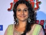 Vidya Balan starts to shoot for her next project Sherni