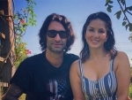 Sunny Leone, Daniel spend quality time together in garden