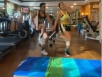 Sara Ali Khan adds a twist to her Sunday gym session, shares video on Instagram