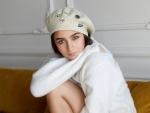 Alia Bhatt enjoys warm clothes in winter