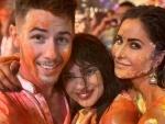Katrina Kaif, Priyanka Chopra, Nick Jonas celebrate Holi in style