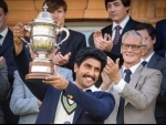 Ranveer Singh recreates iconic World Cup trophy lifting moment from 1983