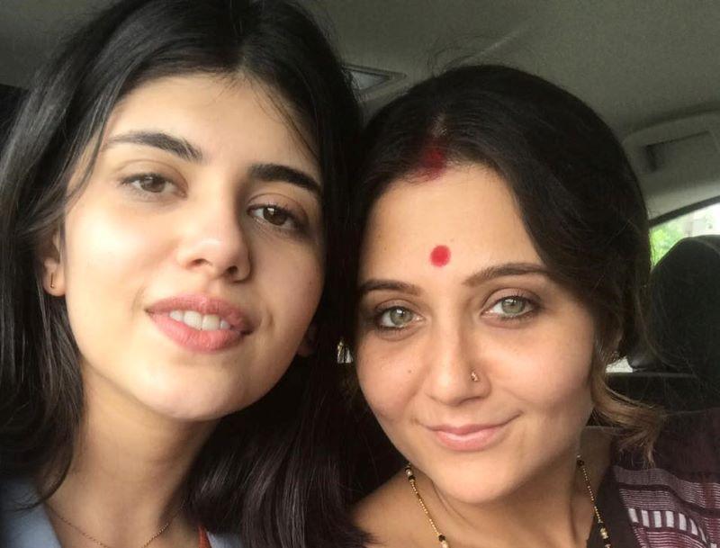 Sanjana Sanghi and Swastika Mukherjee