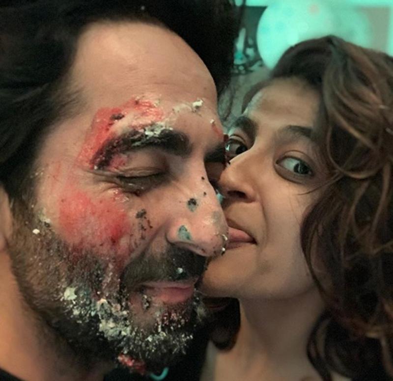 Ayushmann Khurrana turns 36, wife Tahira celebrates hubby's birthday