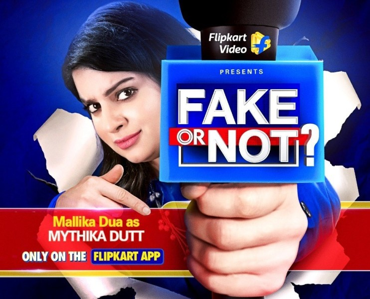 Mallika Dua becomes news anchor 'Mythika Dutt' for new show 'Fake or Not?'