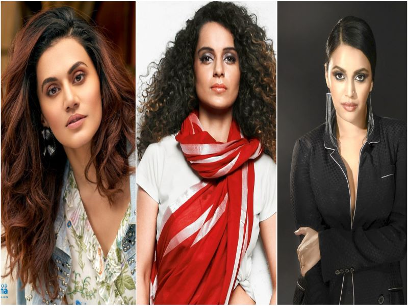 Taapsee Pannu, Swara Bhaskar react after Kangana Ranaut rates them 'B Grade' actors