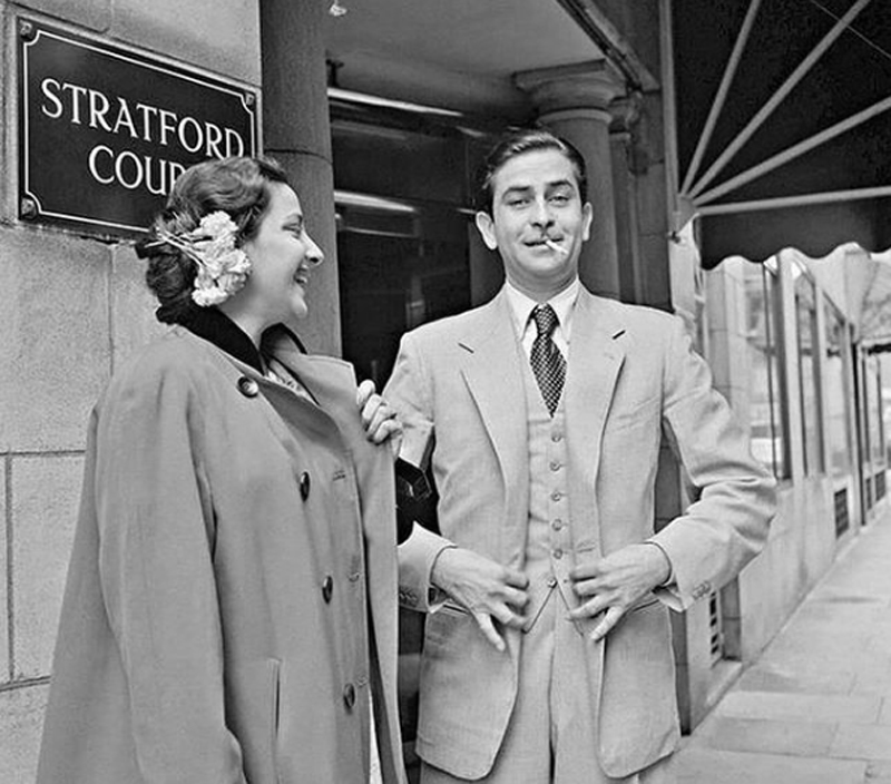 Karisma Kapoor shares throwback image of her grandfather Raj Kapoor on Instagram which also features Nargis