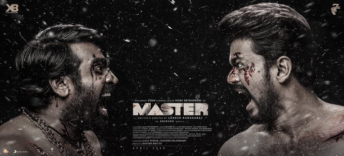 Makers unveil new poster of Master