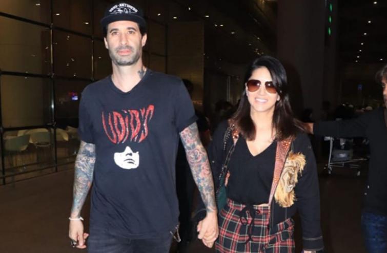 Sunny Leone shares interesting image with husband Daniel online, caption will melt hearts