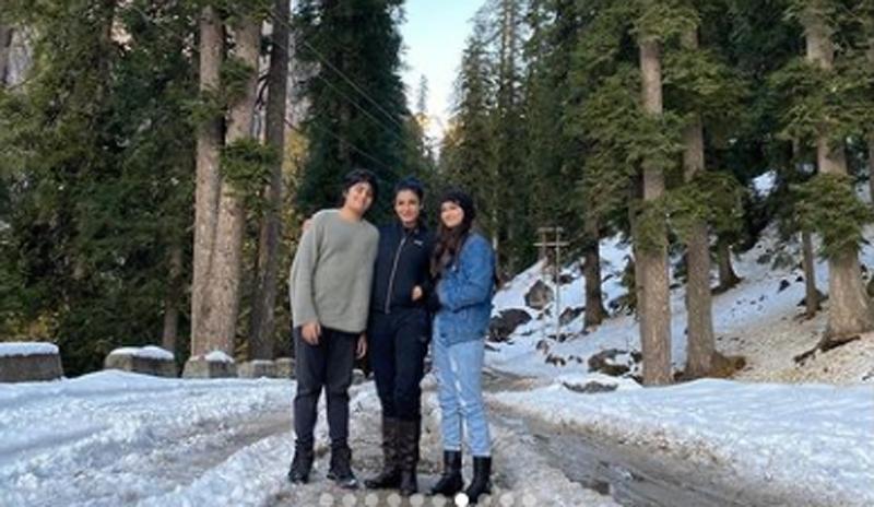 Raveena Tandon enjoying her Himachal visit with kids, shares images on Instagram