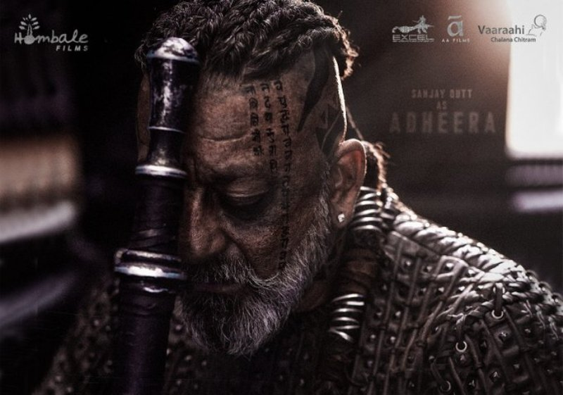 With tattoos on his face, Sanjay Dutt looks stunning as he unveils his first looks from KGF Chapter 2