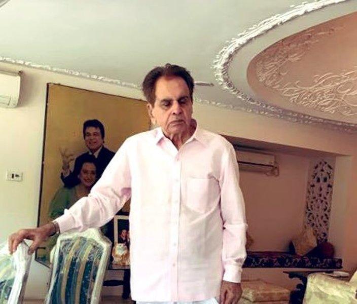 Dilip Kumar not aware of 'disturbing news' of brothers' death, says wife Saira Banu