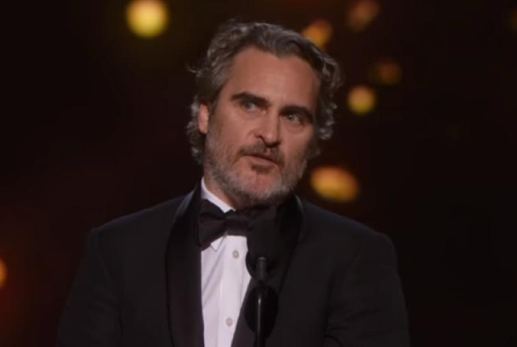 'Joker' actor Joaquin Phoenix speaks about 'fight against injustice' at 92nd Academy Awards