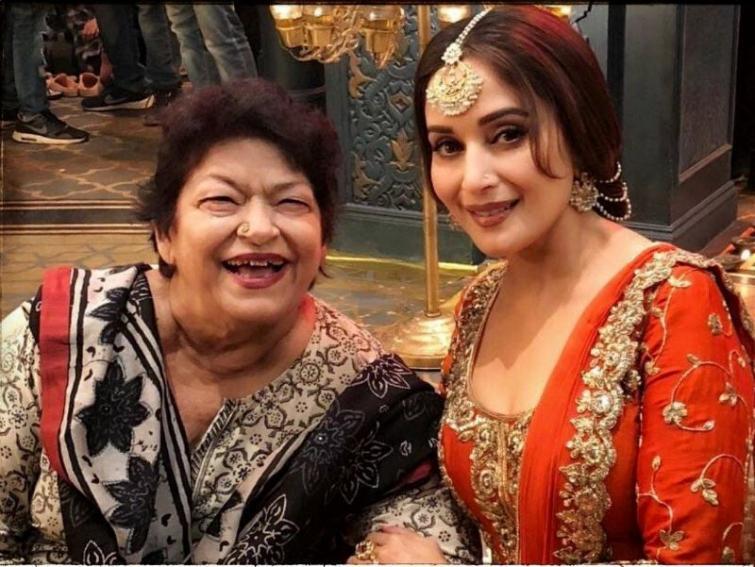 'I'm devastated': Madhuri Dixit Nene mourns demise of Saroj Khan
