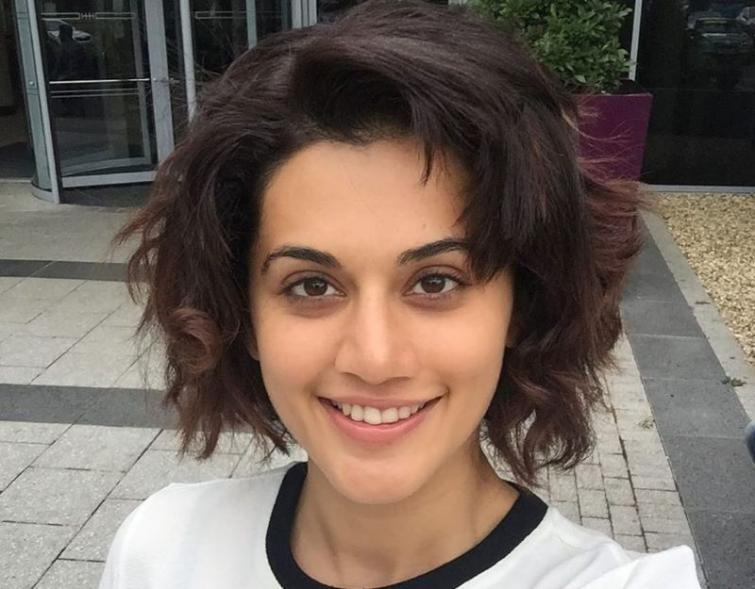 Taapsee Pannu chops off her hairs in quarantine times