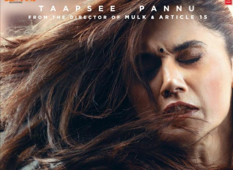 First look poster of Taapsee Pannu starrer Thappad comes out, trailer to be released tomorrow